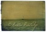 Sailboat off the coast of Maine